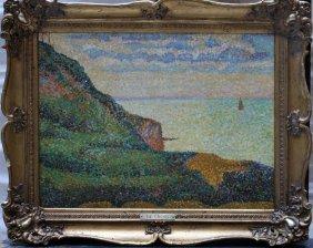 Henri Edmond Cross (1856-1910)-attributed, Pointillist