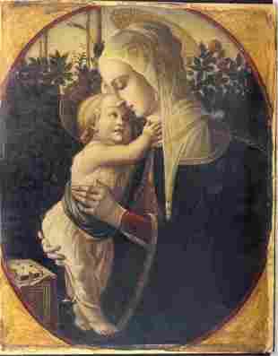 Perino del Vaga (1501-1547)-follower, Maria with Jesus