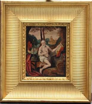 Flemish School around 1600, Saint Hieronymus in the