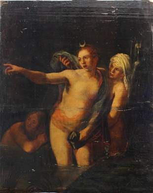 Camilo Procaccini (1551–1629)-circle, Diana with