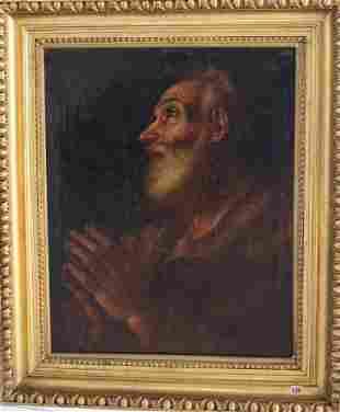 Guido Reni (1575-1642)-school of, Portrait of a