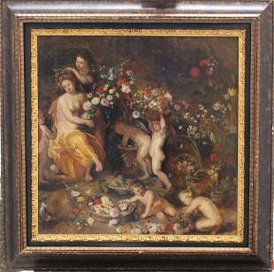 Jan Brueghel the Younger (1601-1678)-attributed,