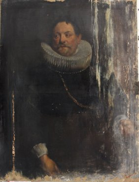 Sir Anthony Van Dyck (1599-1641)-follower, Portrait Of