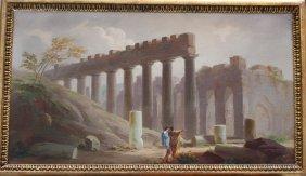 Marco Ricci (1676-1730)-attributed, Classical Landscape