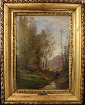 Jean-baptiste Camille Corot (1796-1875)-school,