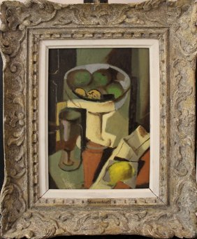 Jean Souverbie (1891-1981)-circle, Still Life With A
