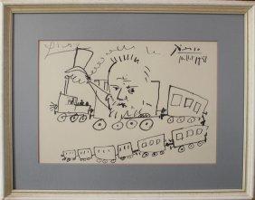 Pablo Ruiz Picasso (1881-1973), Graphic On Paper,