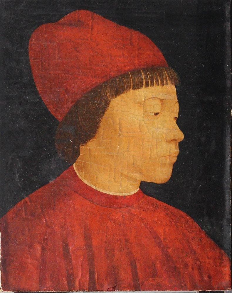 Andrea Mantegna (1431-1506)-circle, Portrait of a young