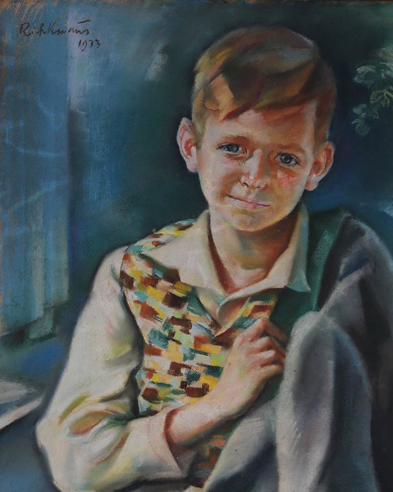 Richard Knaus (1889-1974.) Portrait of a young boy - 3