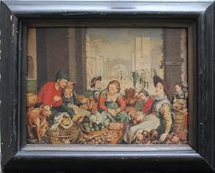 Joachim van Beuckelaer (1530-1574)-follower, Market