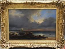 Jean Antoine Theodore Gudin (1802-1880)-attributed, A