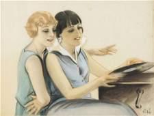 1920 ca. ORIGINAL ARTÍSTICO: (CARTEL). VILA: