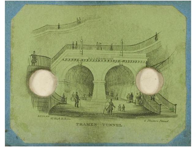 2:  2   Azulai (XIX)  Diorama ´Thames Tunnel´, c. 1849.