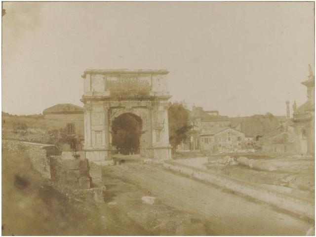 19:  19   Giacomo Caneva, atribuida  Arco de Tito, 1848