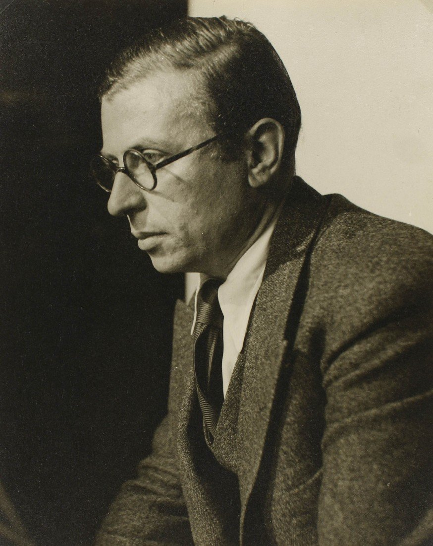 6   Roger Parry (1905-1977)  Jean-Paul Sartre, c. 1942