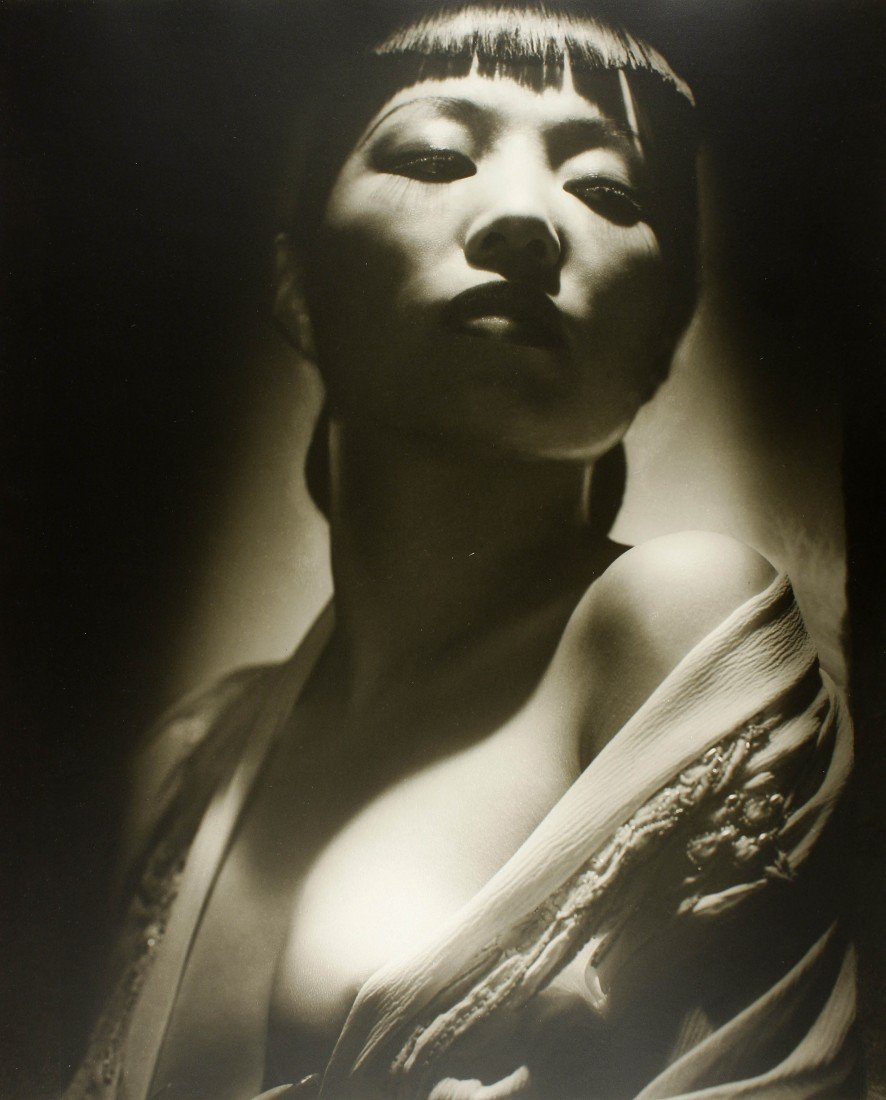 11   George Hurrel (1904),  The actress Anna May Wong,