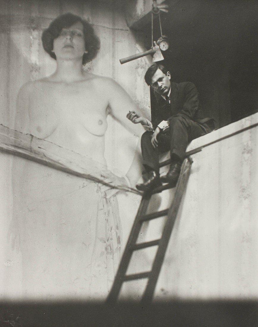 13   Man Ray (1890-1976)  Tristan Tzara, 1921. Gelatin