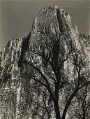 368   Ansel Adams (1902-1984)  Sentimiel Rock, Yosemit