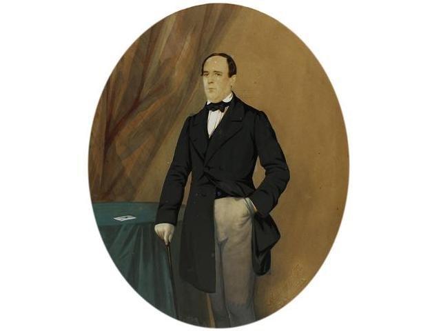 7   Mattey y Moliné (XIX)  Retrato de un hombre, Barce