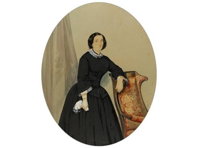 8   Mattey y Moliné (XIX)  Retrato de una mujer, Barce