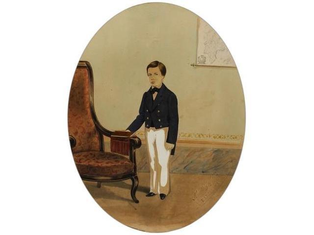 9   Mattey y Moliné (XIX)  Retrato de un niño, Barcelo