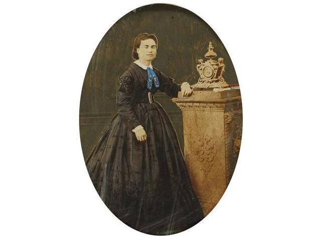 12   Fernando y Anais Napoleón  Retrato de una mujer,
