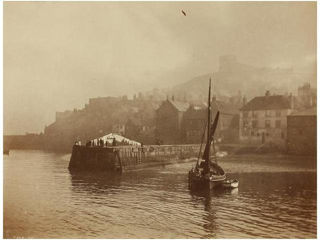 24   Frank Meadow Sutcliffe (1853-1941)  Whitby, 1880.