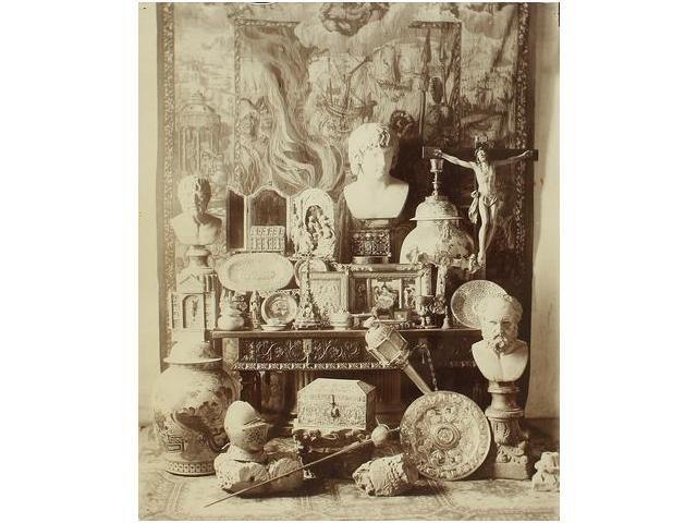 c.1860-1870.   Fotógrafo desconocido (XIX) .  Bodegón