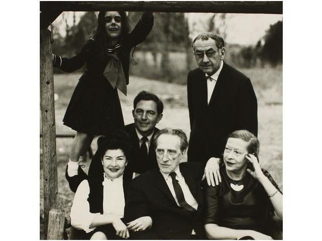 7: Man Ray con Marcel Duchamp y sus esposas, Juliet y T