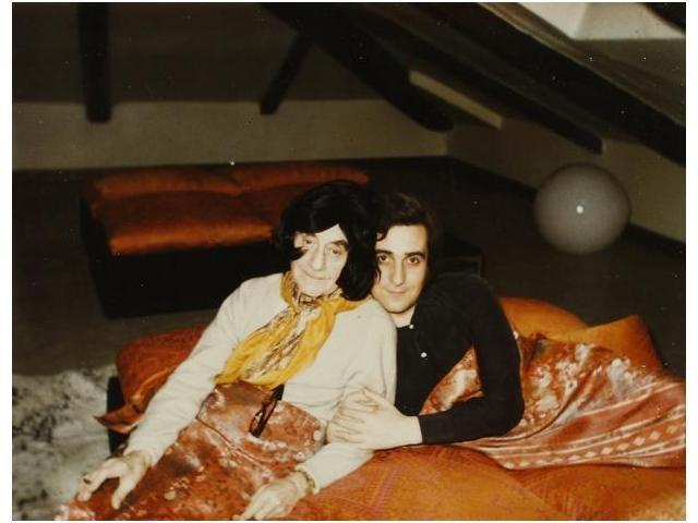 9: Man Ray y Anselmino, Man Ray and Anselmino., 1971