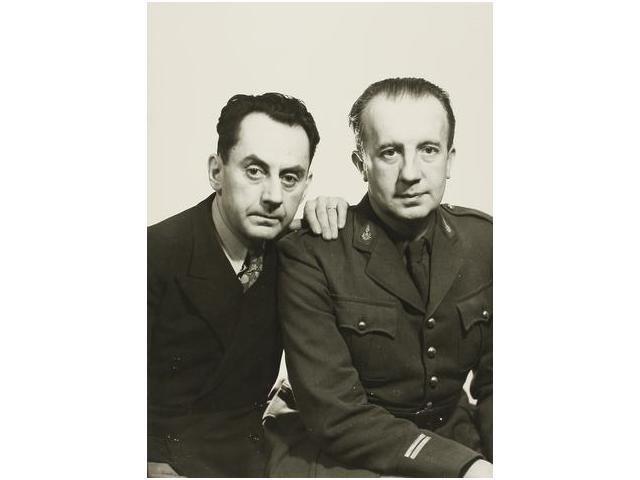 10: Man Ray y Paul Éluard, Man Ray and Paul Éluard., 19