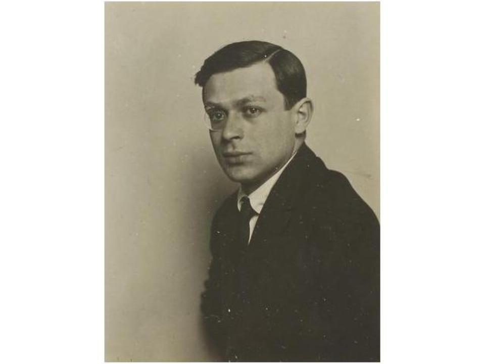 12: Tristan Tzara., c. 1921.