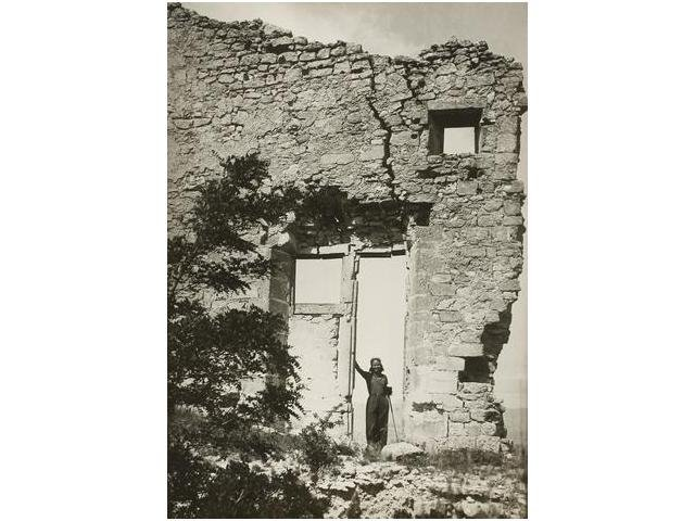 21: Ady Fidelin en las Tours Fendues, en Lacoste (Luber