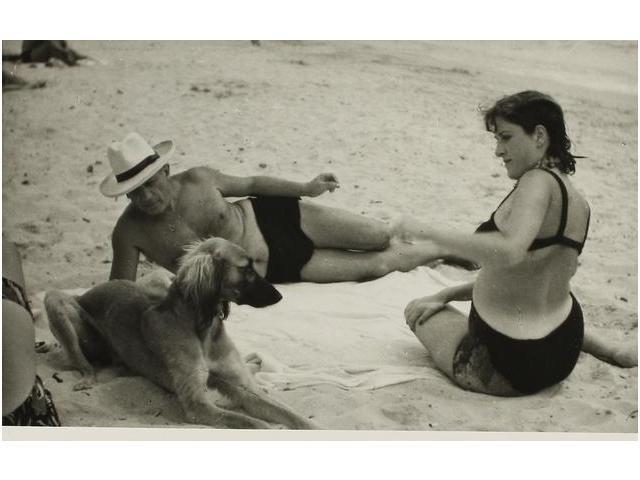 22: Pablo Picasso y Dora Maar en la playa, Picasso & Do