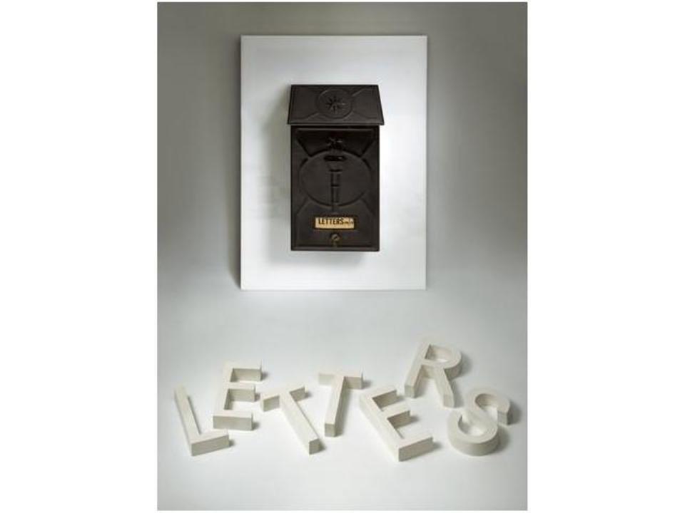 143: Buzón, Caja de letras, Mail box, Letter Box., 1965