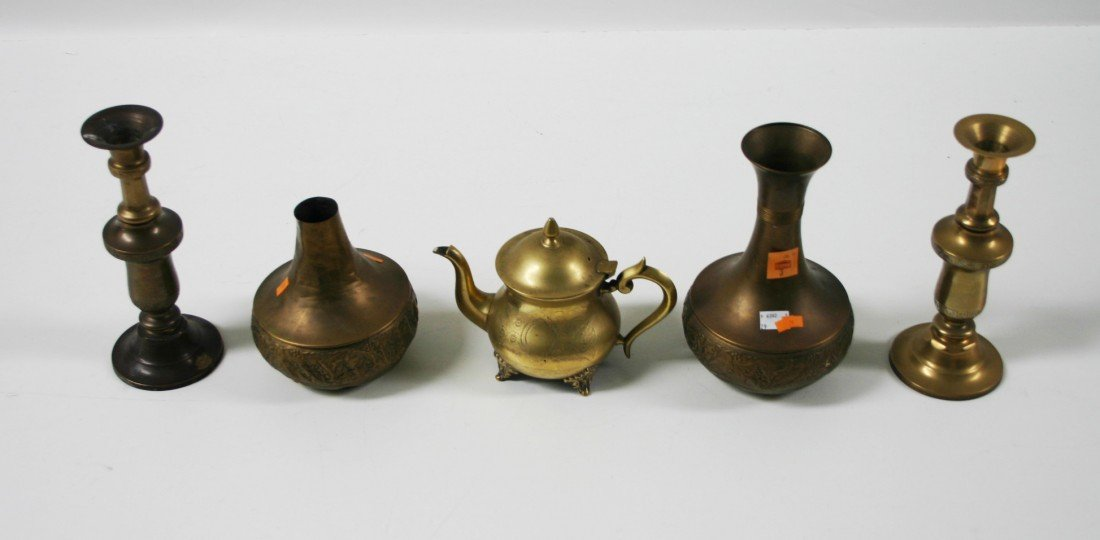 3: A large collection of miscellaneous Brass, comprisin