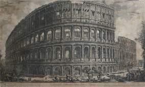 """281: Giovanni Battista Piranesi (1720 - 1778) """"Veduta A"""
