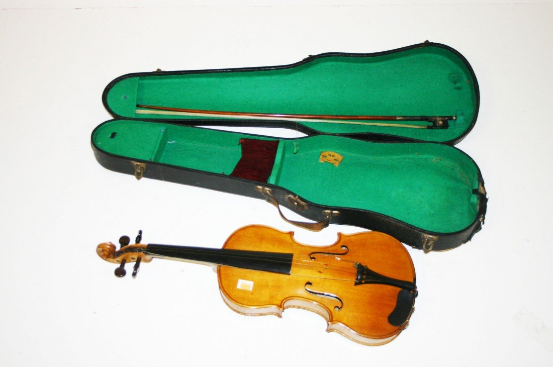 545: A very good Violin, by Wolff Bros,  with original