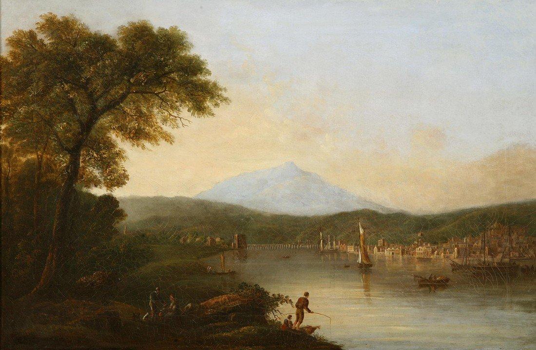 "1019: Henrietta Browne Clayton  ""View of New Ross Co. W"