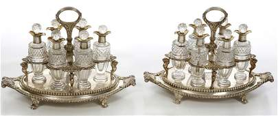 281: Paul Storr A highly important pair of silver Cruet