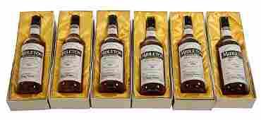 520: MIDLETON - VERY RARE A set of six 750ml bottles, e