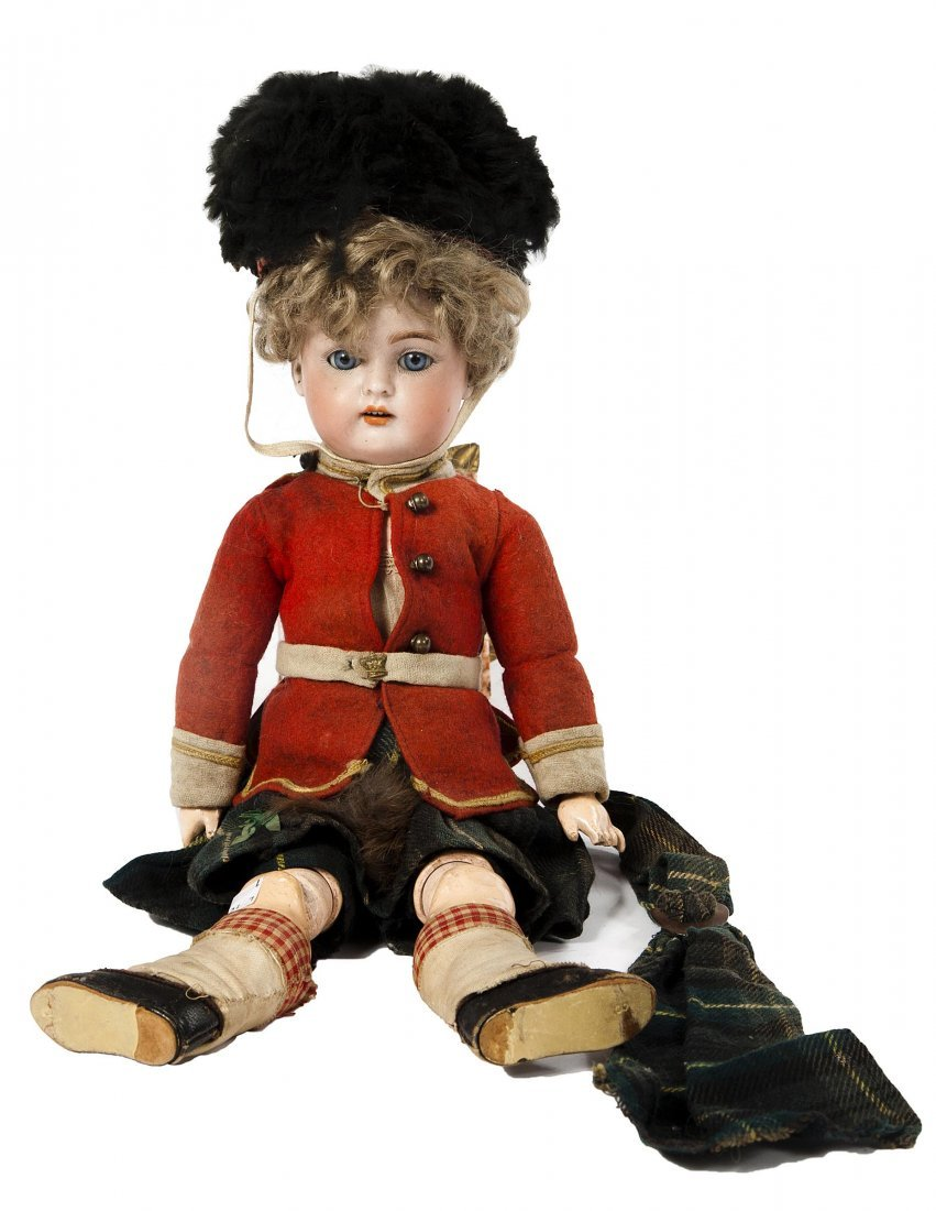 10: A Simon & Halbig boy doll #39 ''Highland Laddie'' f