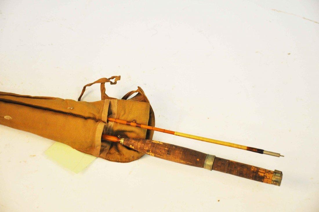 18: A Hardy Regal trout rod, in Hardy canvas case. (1).