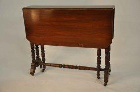 A Mahogany Sutherland Table, Victorian,  The Recta