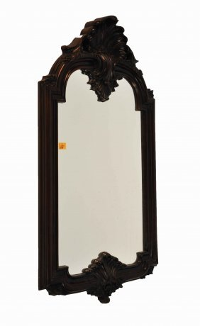 A Modern Moulded Wall Mirror, In The Victorian Sty