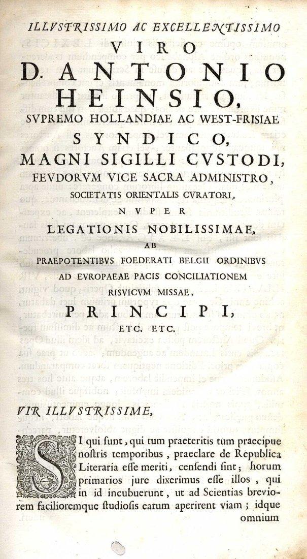 603: Bindings: Hofmann (J.J.) Lexicon Universale, 4 vol