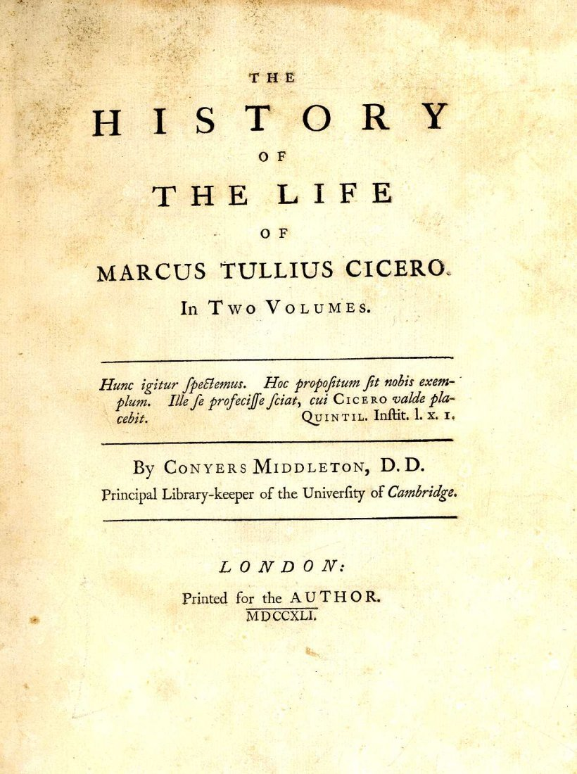 604: Cicero - Middleton(Conyers) The History of the Lif