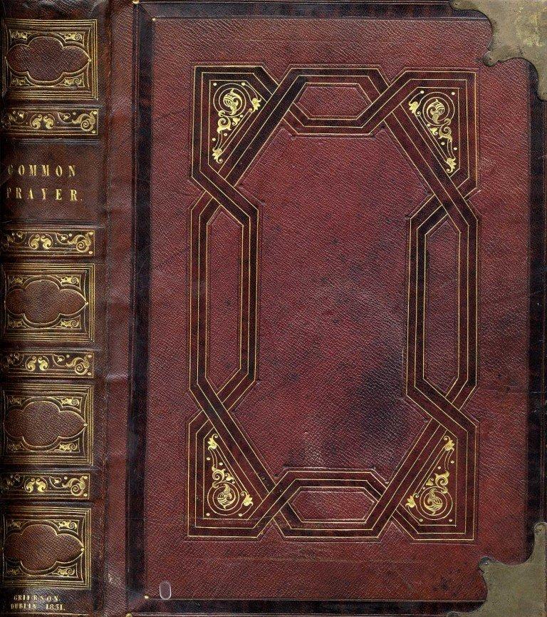 608: Irish Binding: The Book of Common Prayer, lg. 4to