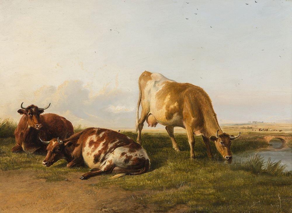 THOMAS SYDNEY COOPER, R.A. (1803-1902) ''Extensive