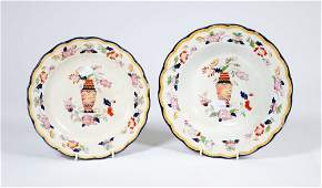 A 21 PIECE PART VICTORIAN ENGLISH STONEWARE DINNER